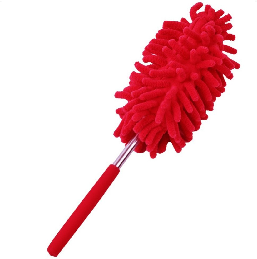 Telescopic Duster Extendable Microfiber Dust Cleaner Handle Home Car Mops Brooms