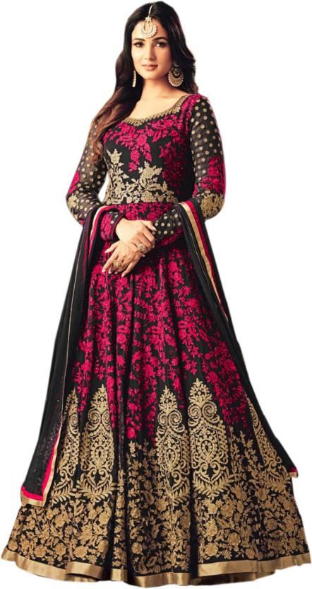 Siddeshwary Fab Anarkali Gown Price in India - Buy Siddeshwary Fab ...