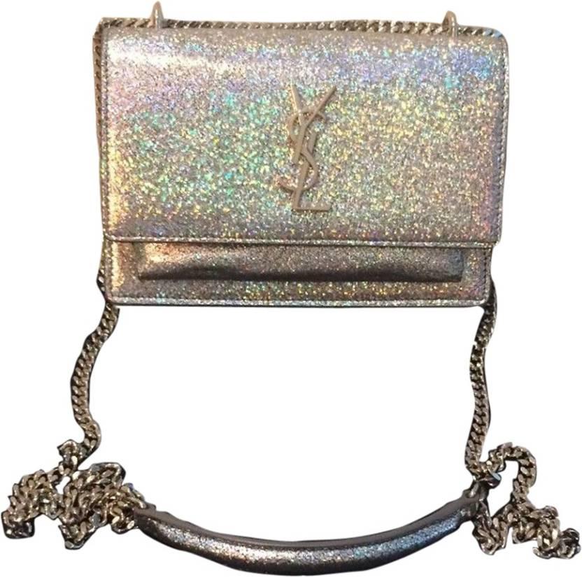 231398e34e2 Buy Yves Saint Laurent Sling Bag Silver Online   Best Price in India ...