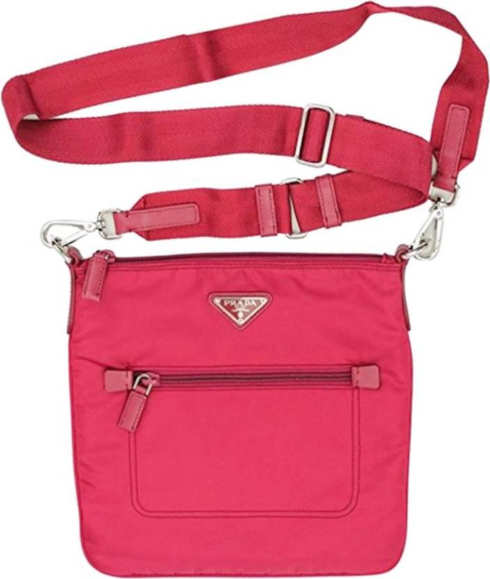 51aa09a3c39040 Buy Prada Sling Bag Pink Online @ Best Price in India   Flipkart.com