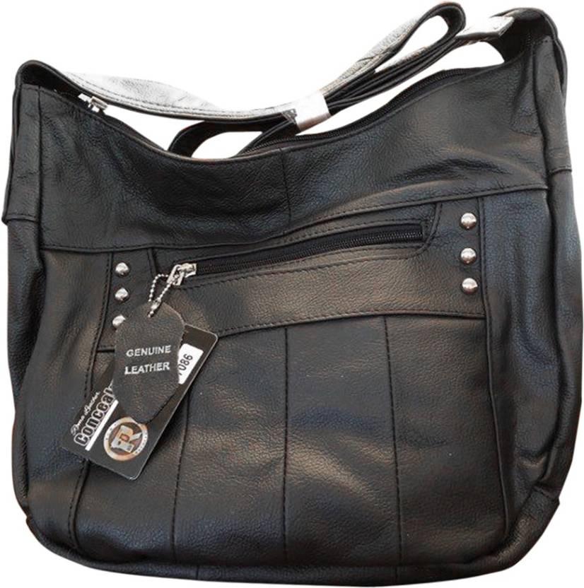Roma Leather Shoulder Bag