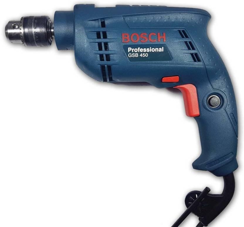 Bosch Gsb 450 10mm 450w Professional Impact Gsb 450 10mm 450w