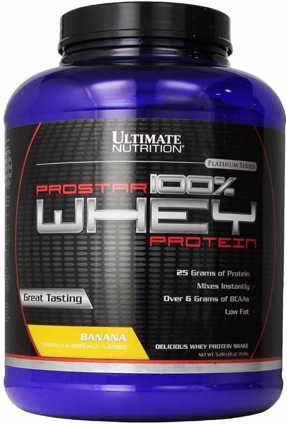 Ultimate Nutrition Prostar 100% Whey Protein (2.39 kg, Banana)