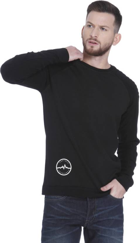 check out 41220 c83f8 Jack & Jones Round Neck Solid Men Pullover