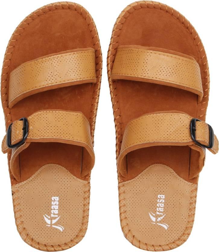 957ba8e72a4f Kraasa Men Tan  Beige Sandals - Buy Kraasa Men Tan  Beige Sandals Online at Best  Price - Shop Online for Footwears in India