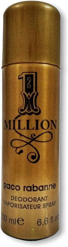 Paco Rabanne 1 Million Perfume Body Spray For Men Price In India