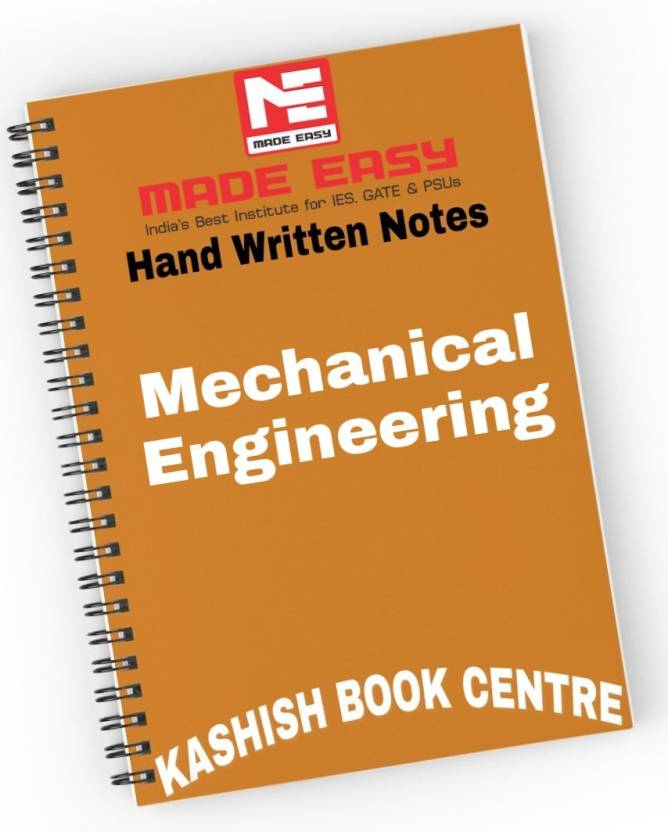 Made Easy Mechanical Engineering Hand Written Notes With