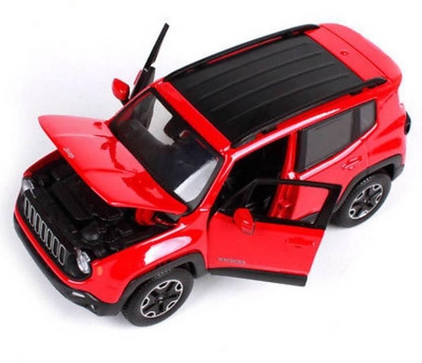 Maisto 1 24 Jeep Renegade Red Diecast Model Car 1 24 Jeep Renegade