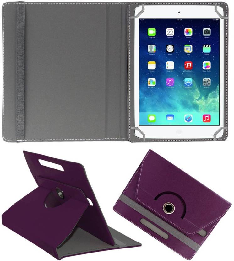 ACM Book Cover for Apple iPad Mini 2 Purple