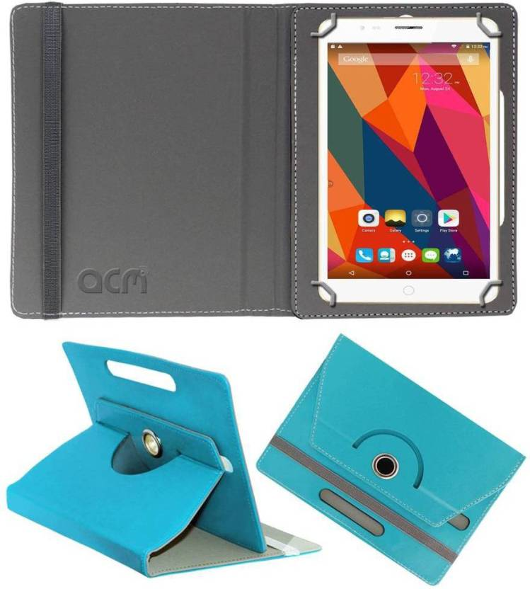 ACM Book Cover for Swipe Strike 4g Blue, Cases with Holder