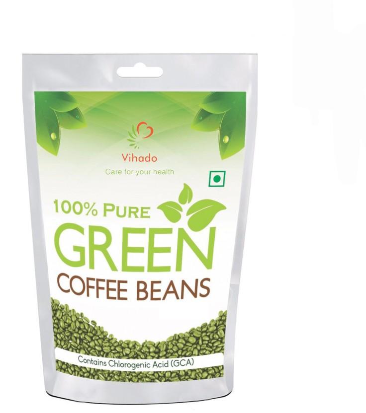 pure life gröna kaffebönor
