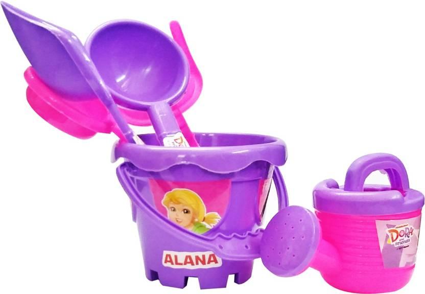 . Dora   Friends Dora   Friends Childrens Gardening Set Garden Tools And  Accessories 6 Pcs