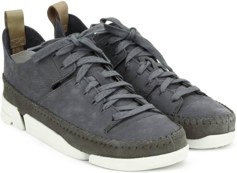 a16b2f3421 Clarks Trigenic Flex. Slate Nubuck Sneakers For Women - Buy Slate ...