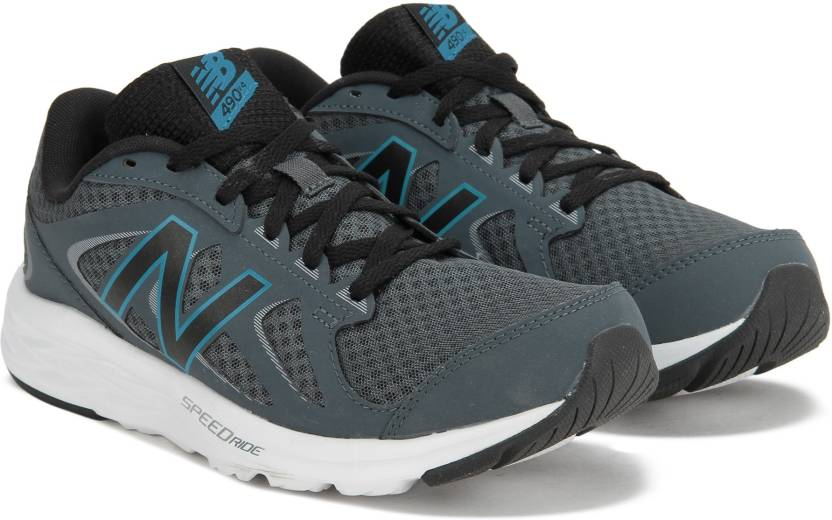 a56b9806 New Balance 490 Running Shoes For Men - Buy DARK GREY Color New ...