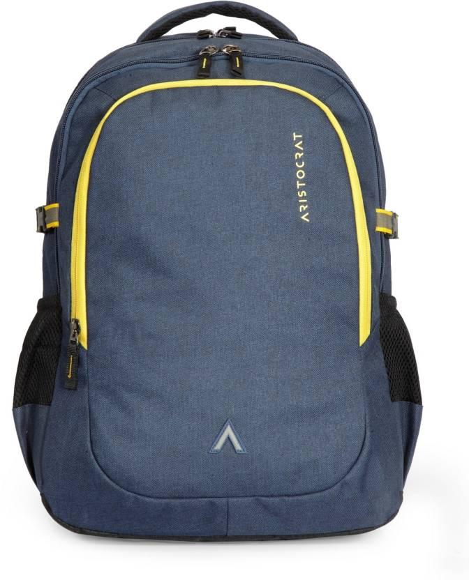 Aristocrat Grid 1 34 L Laptop Backpack Black - Price in India ... 1ba6ae5b72ea8