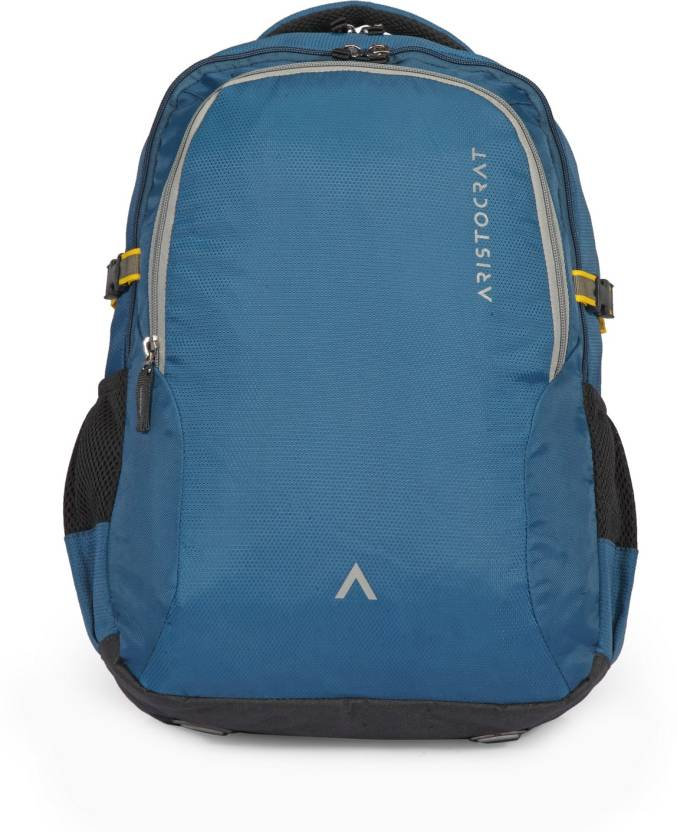 Aristocrat Grid 2 34 L Laptop Backpack Teal Blue - Price in India ... 256ad39aea8a