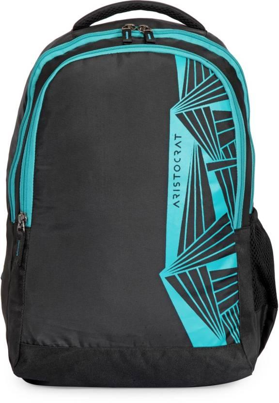 0891ffd81731 Aristocrat Zen 1 School Bag 27 L Backpack Black - Price in India ...