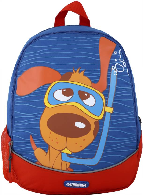 e182e4a08c1 American Tourister Woodle Kids 26 L Backpack Blue - Price in India ...