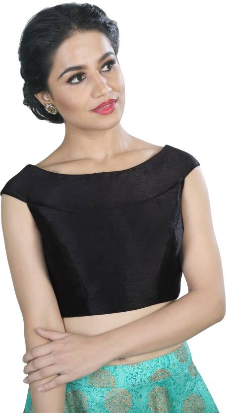 5758e8e5e4030 Salwar Studio Boat Neck Women s Stitched Blouse - Buy Salwar Studio ...