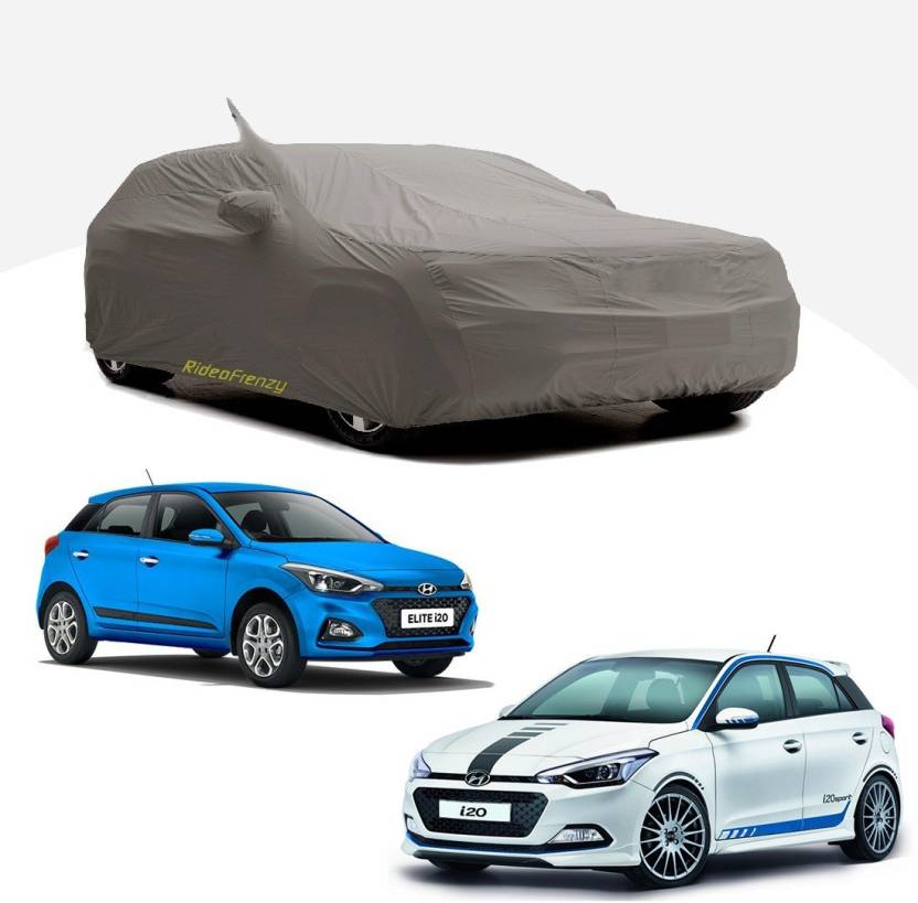 Rideofrenzy Car Cover For Hyundai Elite i20 (With Mirror Pockets)