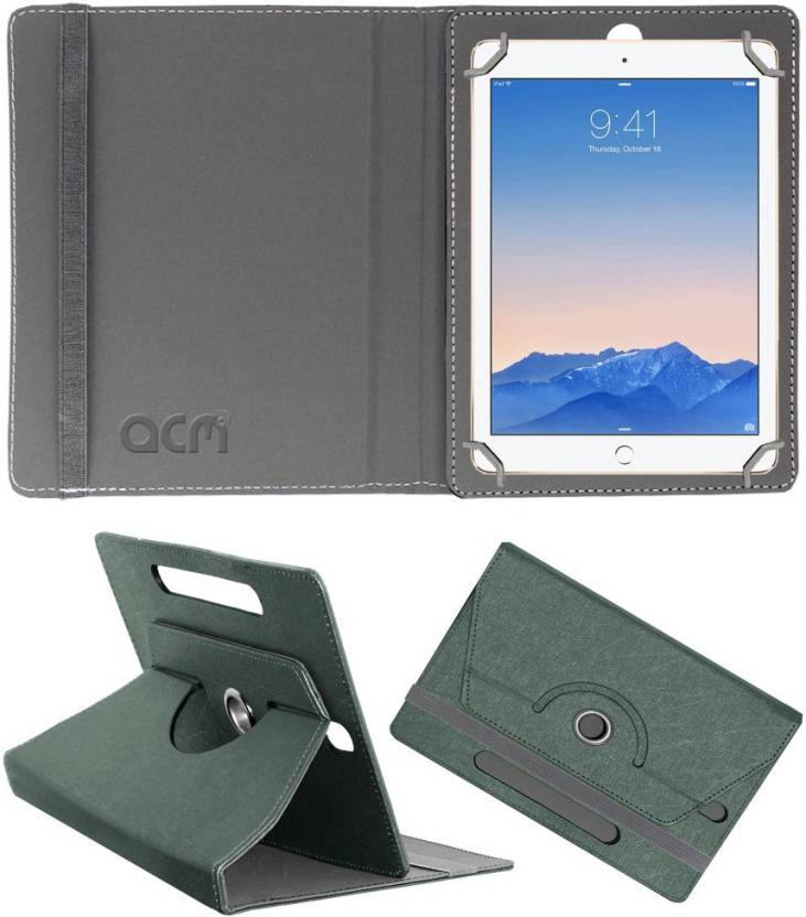 ACM Book Cover for Apple Ipad Air 2 Grey