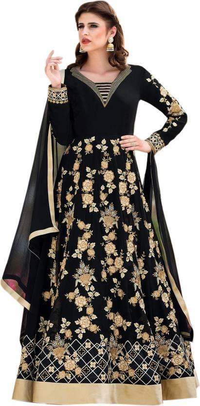 cdb5d4f143 Siddeshwary Fab Anarkali Gown Price in India - Buy Siddeshwary Fab ...