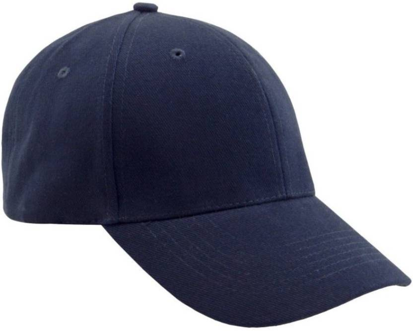 2437d17a5e6 Saifpro Solid Plain Blue Baseball Cotton Cap - Buy Saifpro Solid Plain Blue  Baseball Cotton Cap Online at Best Prices in India