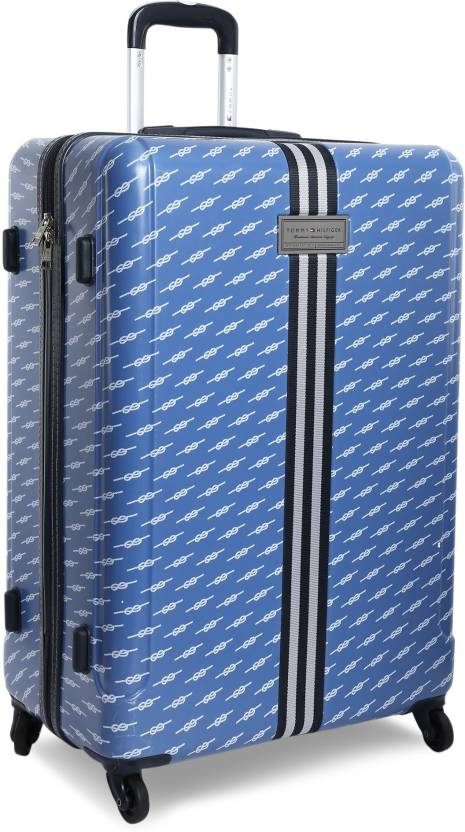 3656c76b5 Tommy Hilfiger CAMBRIDGE Check-in Luggage - 27 inch BLUE - Price in ...