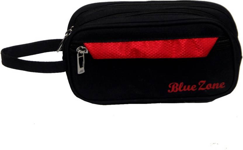 Kuber Industries Multi Purpose Kit Shaving Travelling Canvas Black