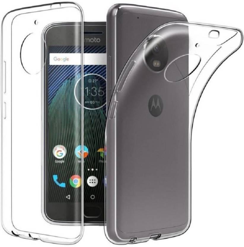 Flipkart SmartBuy Back Cover for Motorola Moto G5 Plus Transparent