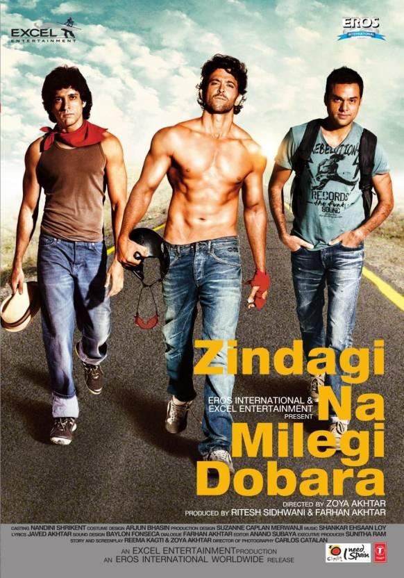 Zindagi Na Milegi Dobara DVD Price in India - Buy Zindagi Na ...