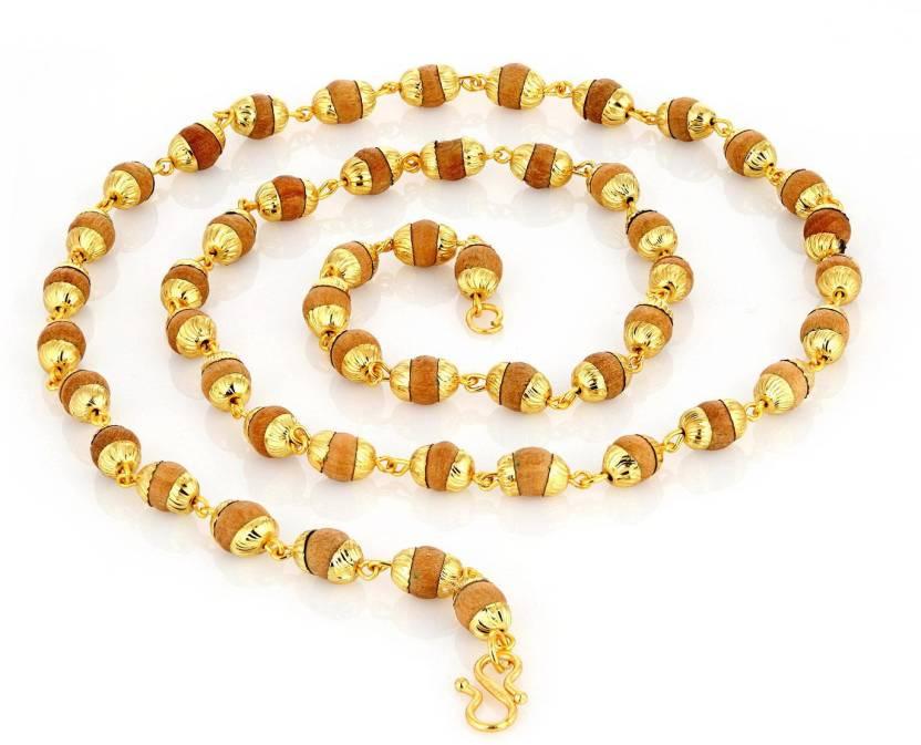 6e2725ccc09fa Sukkhi Rudraksha mala Gold-plated Plated Alloy Chain Price in India ...