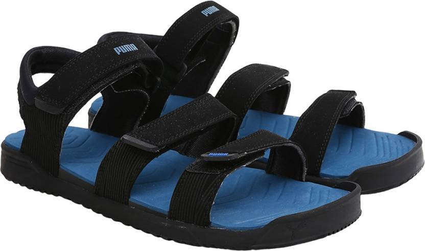 finest selection d42eb baca5 Puma Men Black-Royal Blue Sports Sandals - Buy Puma Men Black-Royal Blue  Sports Sandals Online at Best Price - Shop Online for Footwears in India ...