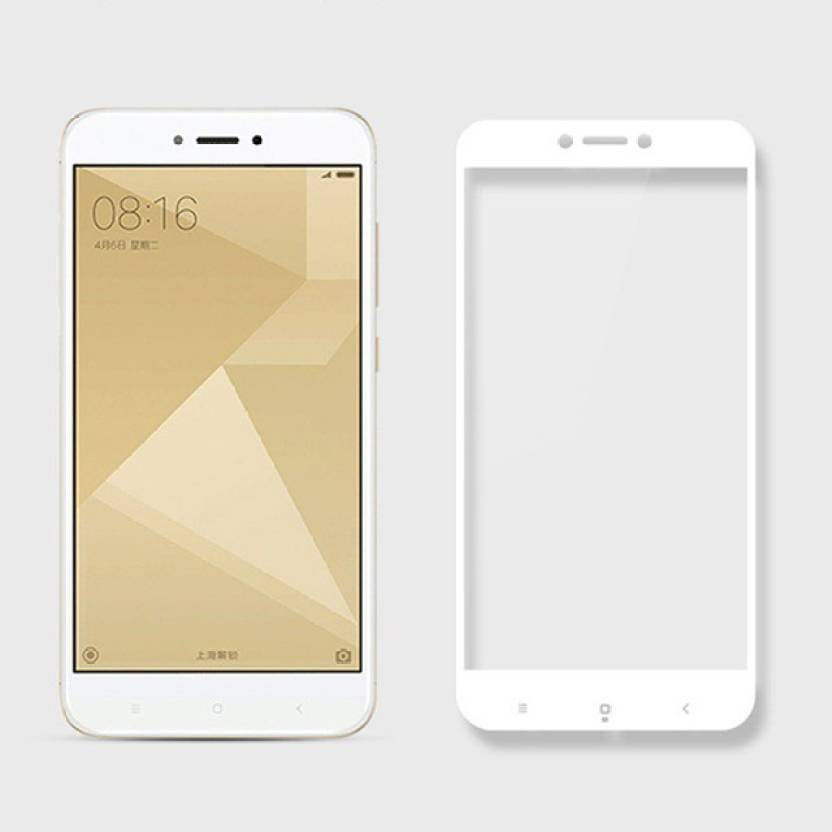 Niptin Tempered Glass Guard for Redmi Y1 (5D) (Pack of 1)