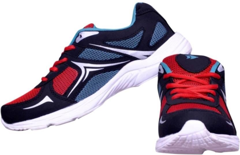 2e8ffc1af165 Begone Q1 Krish Red White Sole Running Shoes For Men - Buy Begone Q1 ...