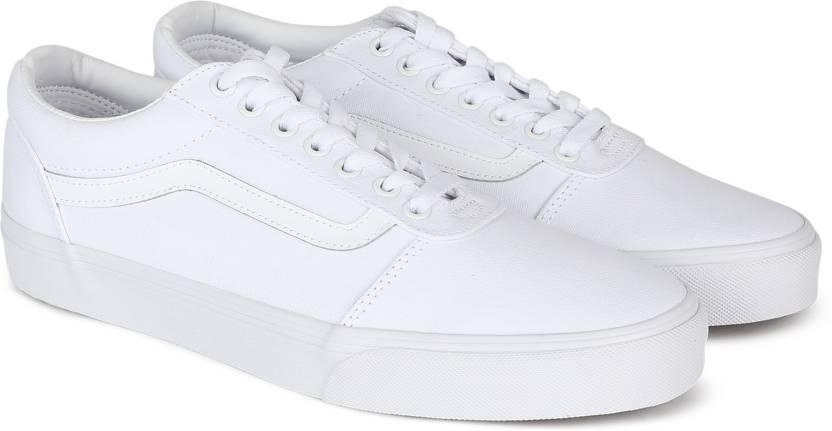 Vans Ward Sneakers For Men - Buy (Canvas) white white Color Vans ... d26fd14e8a4