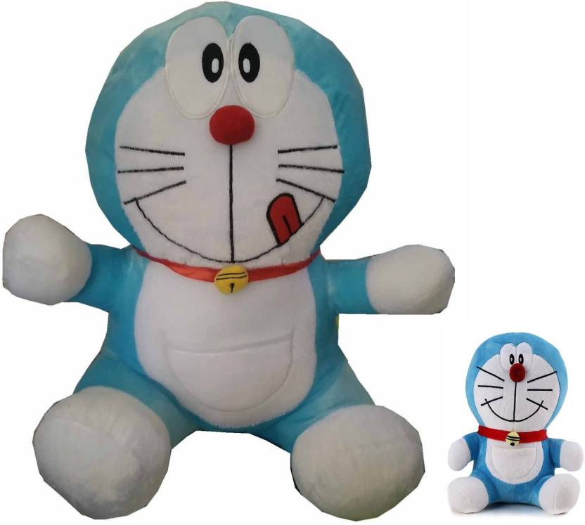 KOONIV Big Daddy Doraemon With His Cute Kid 8 Inch 20cm Soft Toy Birthday Gift For Dad Husband Brother Friends Kids Huggable Pal Best Qaulity