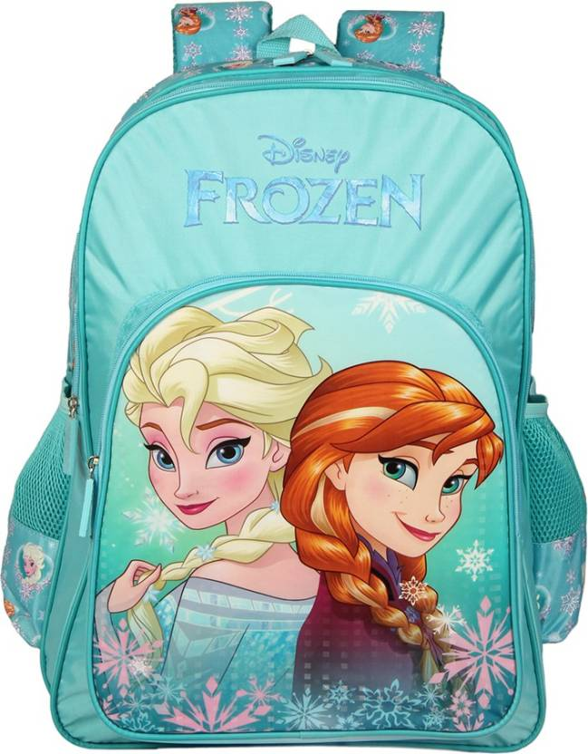 064c9237307 Disney Frozen Sister Turquoise 14    School Bag (Multicolor