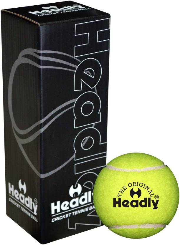 Headly Heavy Cricket Tennis Ball Pack of 3