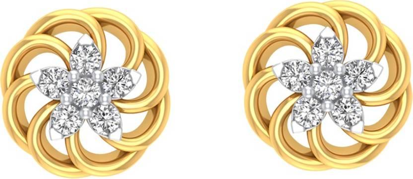 1a72cba1eedd0 Flipkart.com - Buy AMANTRAN Expensive Earrings In Silver Yellow ...