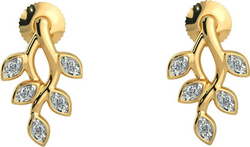 4cd276003 Flipkart.com - Buy AMANTRAN Gracious Earrings Cubic Zirconia Silver Stud  Earring Online at Best Prices in India