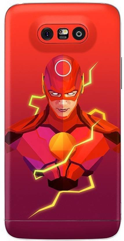 Crystal Coat The Flash Printed Back Skin/Sticker Back Only - Red