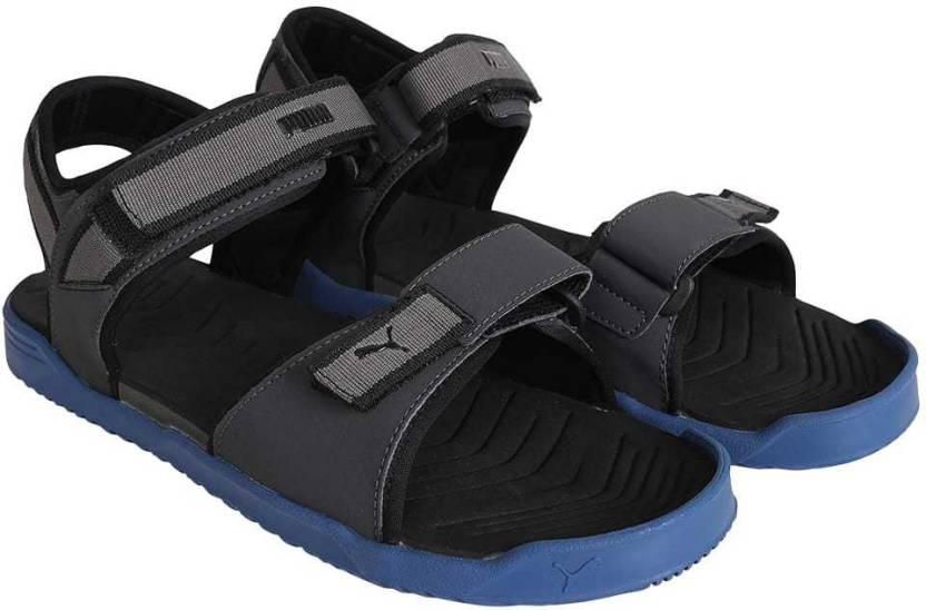 74d804961b5 Puma Men Dark Shadow-Turkish Sea- Black Sports Sandals - Buy Puma Men Dark  Shadow-Turkish Sea- Black Sports Sandals Online at Best Price - Shop Online  for ...
