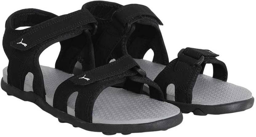 da948cc90e5 Puma Men Black-Black-Red Dahlia Sandals - Buy Puma Men Black-Black-Red  Dahlia Sandals Online at Best Price - Shop Online for Footwears in India