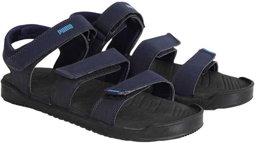 Puma Men Peacoat-Asphalt Sports Sandals - Buy Puma Men Peacoat-Asphalt  Sports Sandals Online at Best Price - Shop Online for Footwears in India  373b9f26b