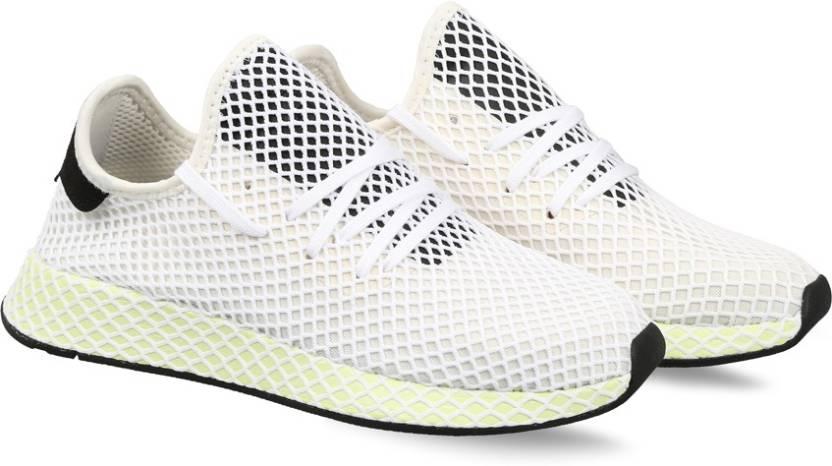 adidas originali deerupt runner scarpe per gli uomini comprano cwhite / cblack
