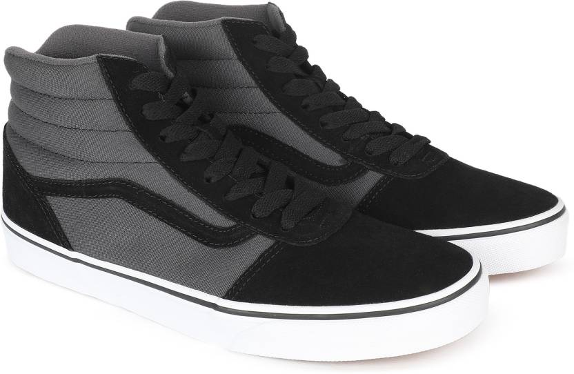 Vans Ward Hi Sneakers For Men - Buy (2-Tone) black asphalt Color ... c5fa624a4