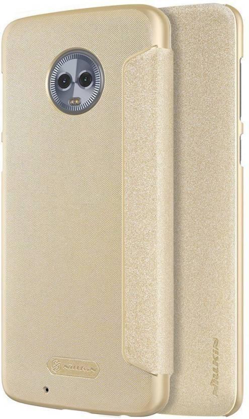 promo code 20c9f a0c47 Nillkin Flip Cover for Motorola Moto G6 Sparkle Leather - Nillkin ...