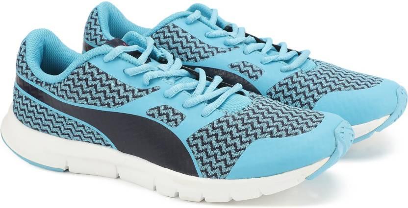 Royaume-Uni disponibilité cc852 9f012 Puma PUMA Flexracer Techtribe JR ID Running Shoes For Women ...