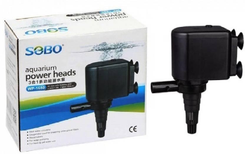 sobo aquarium power head wp 1650 power 25w f max 1500l hr h